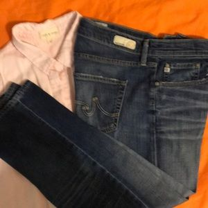AG Capri Jeans Anthropologie